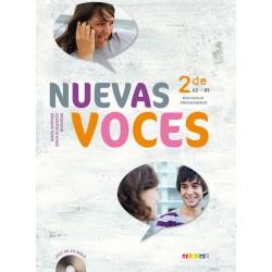 Nuevas voces 2de - Manuel + CD - 2010 - Didier