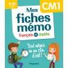 Mes fiches mémo Français et Maths CM1 - Magnard