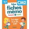 Mes fiches mémo Français et Maths CM2 - Magnard