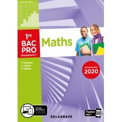 Mathematiques - 1re Bac Pro - Groupement C - Pochette - 2020 - Delagrave