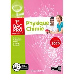 Physique Chimie 1re Bac Pro - Pochette - 2020 - Delagrave