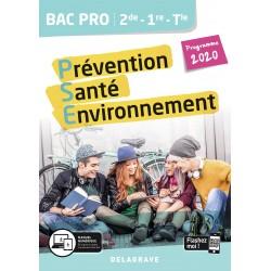 Prévention Santé Environnement (PSE) - 2de / 1re / Tle Bac Pro - 2020 - Delagrave