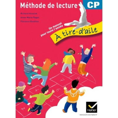 A tire d'aile CP - Version Rouge - Livre - 2011 - Hatier