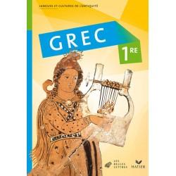 Grec 1e - Manuel - 2008 - Hatier