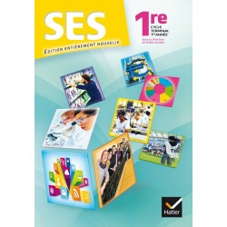 Sciences economiques et sociales (SES) 1e ES - Manuel - 2015 - Hatier