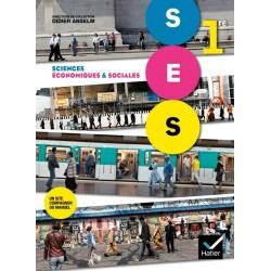 Sciences economiques et sociales (SES) 1e ES - Manuel - 2011 - Hatier