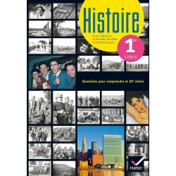 Histoire 1e L / ES / S - Sous la Direction de Chevallier - Manuel - 2015 - Hatier