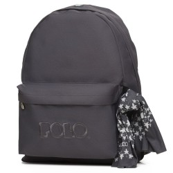 Sac à dos Polo Backpack - 1 Poche - Gris Fonçé
