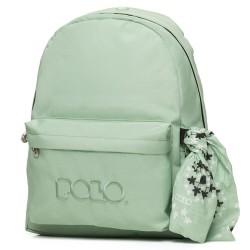 Sac à dos Polo Backpack - 1 Poche - Vert d'eau