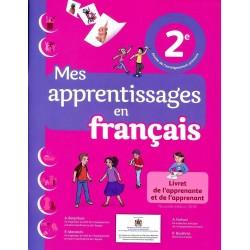 Mes Apprentissages en Français 2ème année primaire - CE1 - Livre de l'élève