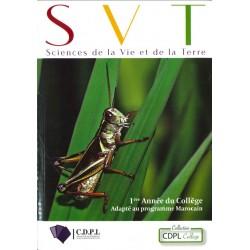 SVT 1ere Année Collège - CDPL