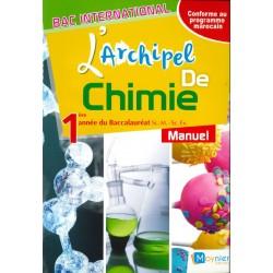 L'archipel de Chimie 1e année Bac - Manuel - 2016 - Moynier