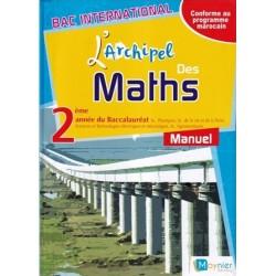 L'archipel des maths 2e année Bac - Manuel - 2018 - Moynier