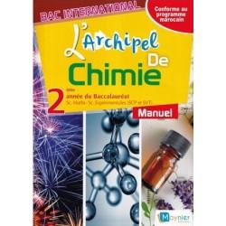 L'archipel de Chimie 2e année Bac - Manuel - 2017 - Moynier