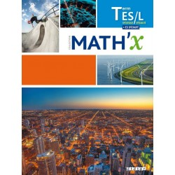 Math'x Tle ES / L avec spécialité - Manuel - 2016 - Hatier
