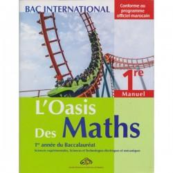 L'oasis des maths 1e année Bac - Manuel - 2016 - Al Madariss