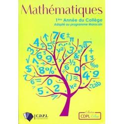 Mathematiques 1ere Année Collège - CDPL
