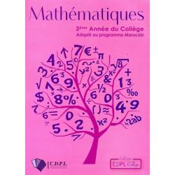 Mathematiques 3eme Année Collège - CDPL