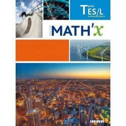 Math'x Tle ES / L sans spécialité - Manuel - 2016 - Hatier