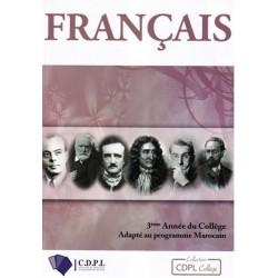 Français 3eme Année Collège - CDPL