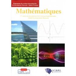 Mathématiques 1ere année Bac - Sciences Expérimentales - CDPL