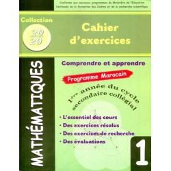Collection 20/20 - Mathématiques 1AC - Cahier d'exercices