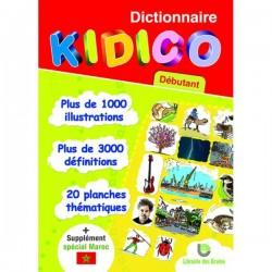 Dictionnaire Kidico Débutant + 1 Supplément spécial Maroc - Librairie des Ecoles