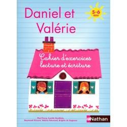 Daniel et Valerie - Cahier d'exercices, lecture et écriture 5-6 ans - 2007 - Nathan