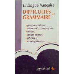 Dictionnaire Auzou des difficultés et grammaire (Poche)