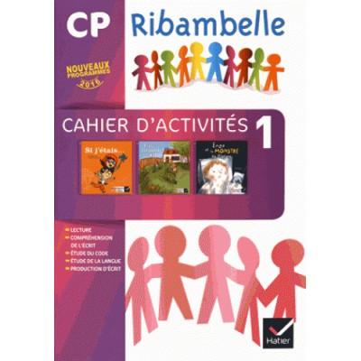 Ribambelle CP serie violette - Cahier d'activites 1 + Livret d'entrainement 1 - 2016 - Hatier
