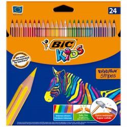 Boite de 24 crayons de couleur BIC