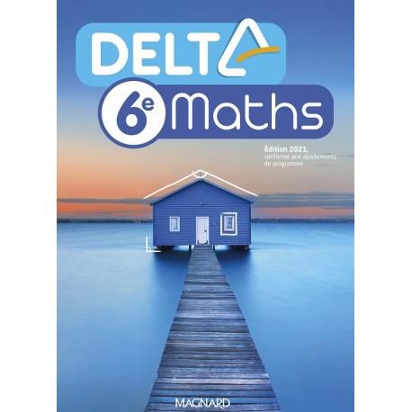 Delta Maths 6e - Manuel - 2021 - Magnard