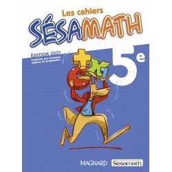 Les cahiers Sésamath 5e - 2021 - Magnard