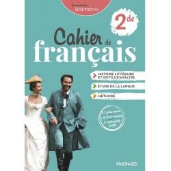 Empreintes littéraires 2de - Cahier de français - 2021 - Magnard