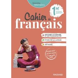 Empreintes littéraires 1re - Cahier de Français - 2021 - Magnard