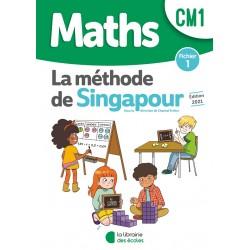 Mathématiques CM1 - Méthode de Singapour - Fichier 1 - 2021 - Librairie des Ecoles
