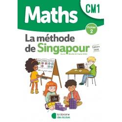 Mathématiques CM1 - Méthode de Singapour - Fichier 2 - 2021 - Librairie des Ecoles