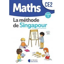 Mathématiques CE2 - Méthode de Singapour - Fichier 1 - 2021 - Librairie des Ecoles