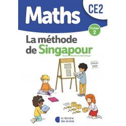 Mathématiques CE2 - Méthode de Singapour - Fichier 2 - 2021 - Librairie des Ecoles