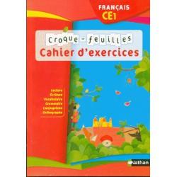 Croque-feuilles CE1 - Cahier d'activités - 2012 - Nathan