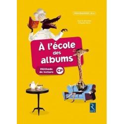 A l'ecole des albums CP - Série Jaune - Manuel - 2016 - Retz