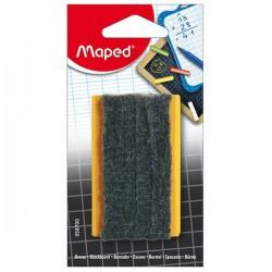 Brosse pour ardoise noire et blanche en blister - Maped
