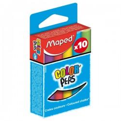 Boite de 10 craies couleurs Maped