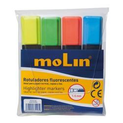 Pochette de 4 Fluos Molin