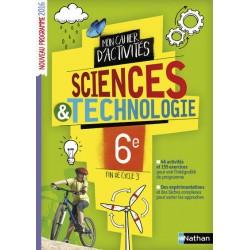 Sciences et Technologie 6e - Cahier d'activités - 2016 - Nathan