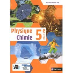 Physique Chimie 5e - Manuel - 2017 - Nathan