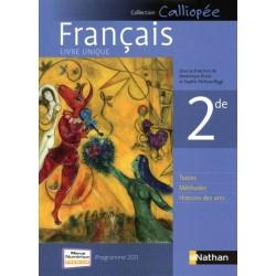 Français 2de - Calliopée - Manuel - 2011 - Nathan