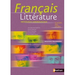 Français Litterature 2de / 1re - Manuel - 2011 - Nathan