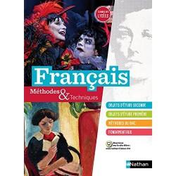 Français Methodes et Techniques - 2de / 1re - 2016 - Manuel - Nathan