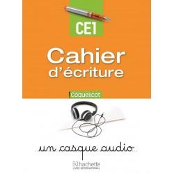 Coquelicot CE1 - Cahier d'écriture - 2015 - Hachette